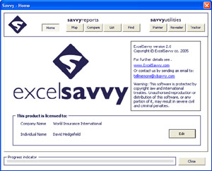 ExcelSavvy - Ultimate industry spreadsheet professional development tool for auditing, comparing and reporting spreadsheet models. Leading the way for major accountancy firms, banks and other financial institutions